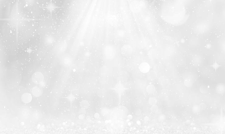 銀色に輝く光