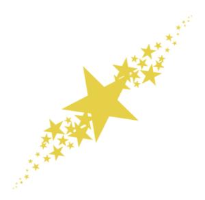 たくさんの星