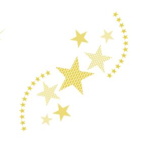 星々と星のライン