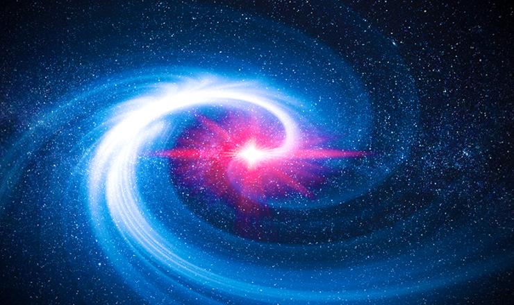 銀河光の渦