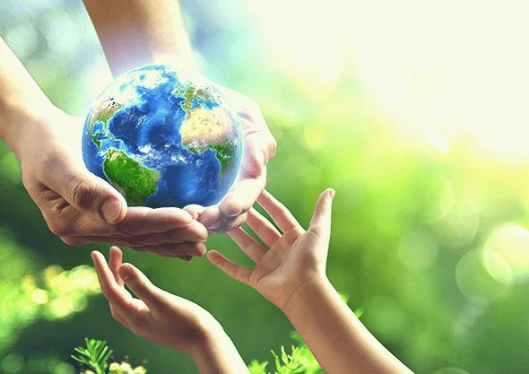 子供たちに受け継がれる地球